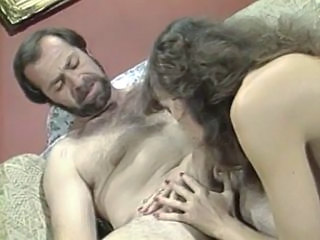 Sexy daddy and girl with hair...