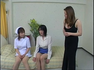 Reiko and students (1 of 2)