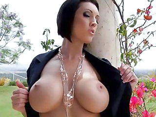 Filthy Beautiful Dylan Ryder Bares Her Huge Tits Out For Everyone's De...