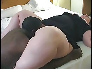 White Ssbbw Sucks And Fucks Bbc Bull