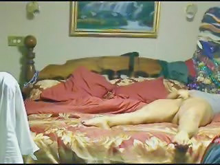Hidden cam in bedroom of my mom