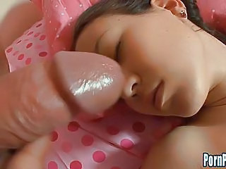 After A Deep Fucking, Amai Jui Takes A Huge Load Of Cum On Her Face.