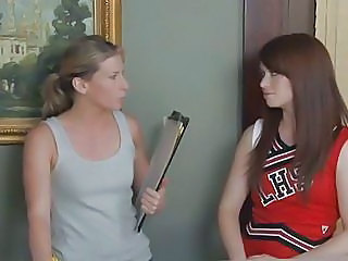 Hot Cheerleader Ashlyn Rae Gets...