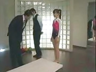 Japanese Gymnast Abused By Jon57