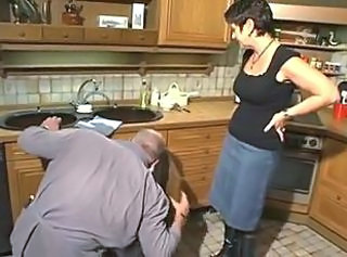 German mature housewife & repairman _: german matures
