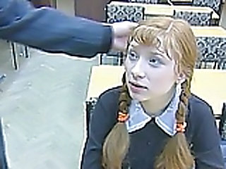 russian redhead - Teen sex video -
