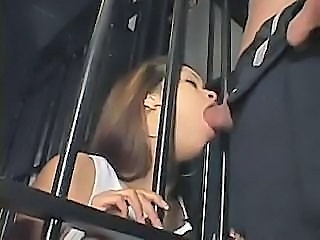 Jail bate Daisy Marie wants to get fucked by her stud guard