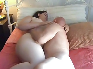 Brunette Fatty Gets Fucked