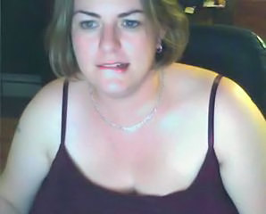 Fat Wife Home Alone Showing Off Her Big Tits