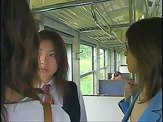 The Best 3 Japanese Girls Tongue Kissing Sex Scene