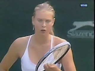 Downblouse - Maria Sharapova