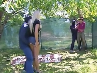 Girl attacked and d outdoors free