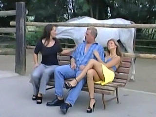 Lucky Guy is given a Fuck with Sandra Brust & D La Bouche