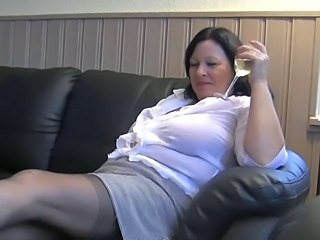 Amateur Chubby Drunk Mature Stockings