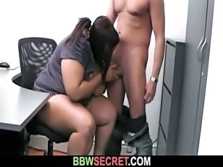 Blowjob  Office Secretary