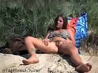 Beach Masturbating  Nudist Outdoor