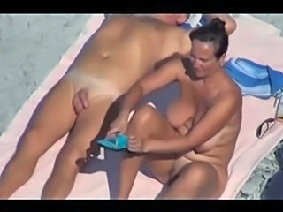 Amateur Beach Big Tits Mature Nudist Older Outdoor