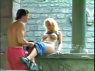 Big Tits Blonde Flexible Hardcore  Outdoor