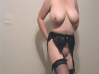 Amateur Big Tits Mature Stockings