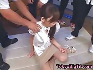 Asian Gangbang Japanese  Skinny Skirt