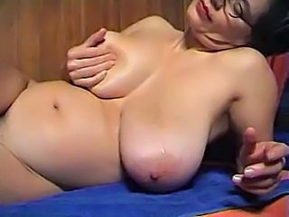 Big Tits Chubby Glasses Mature Natural  Solo