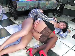 Amazing Anal Clothed Cute Hardcore Legs  Stockings