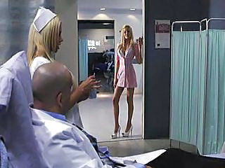 Amazing Big Tits Blonde Legs  Nurse Pornstar Uniform