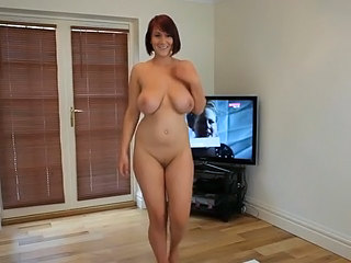 Amazing Big Tits Cute Dancing  Natural