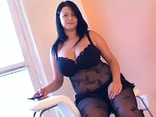 Big Tits Chubby Lingerie  Natural