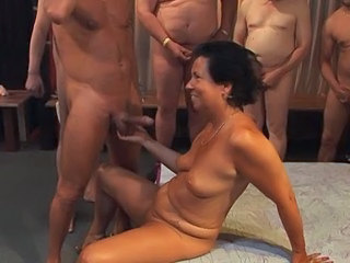 Amateur European Gangbang German Mature
