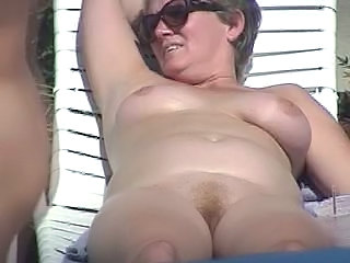 Mature Nudist Outdoor Voyeur
