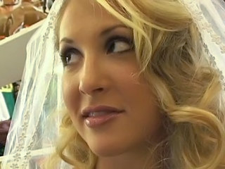 Blonde Bride Cute