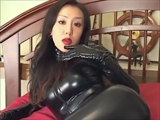 Amazing Asian Cute Fetish Japanese Latex
