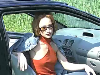 Car Glasses  Outdoor Redhead Skinny