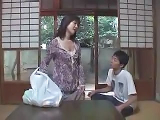 Asian Mom Old and Young
