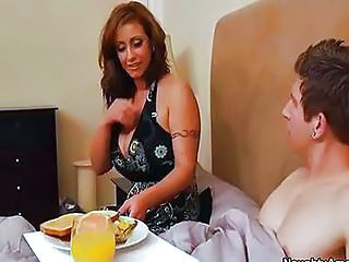 Eva Notty Seduces Son's Friend A...