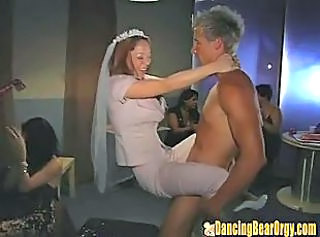 Bride  Drunk  Party Public