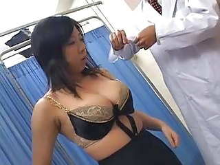 Asian Big Tits Doctor Lingerie  Natural