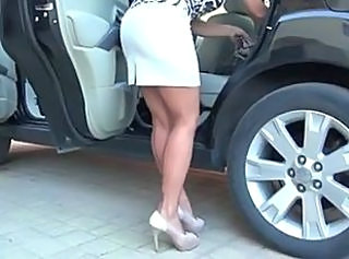 Car Legs  Stockings