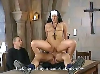 Hardcore  Nun Riding Uniform Vintage