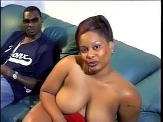 Amazing Chubby Ebony Mature Wife