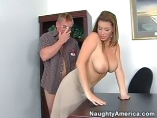 Big Tits Hardcore  Office Pornstar