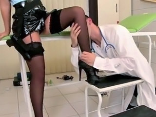 Doctor Legs  Pornstar Stockings Uniform