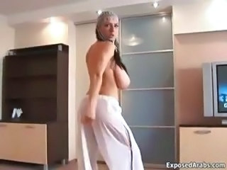 Arab Big Tits Dancing  Stripper