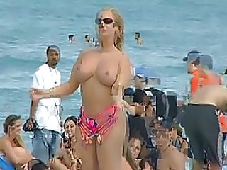 Beach Big Tits  Nudist Outdoor