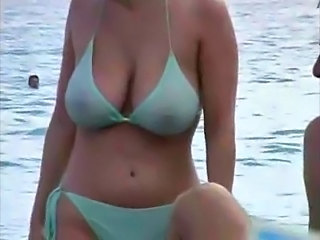 Beach Bikini  Outdoor Voyeur