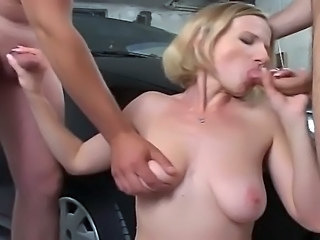 Blowjob Car   Threesome