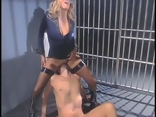 Amazing  Facesitting Licking  Prison Stockings