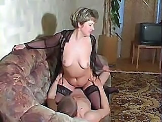 Amateur Mature Mom Russian Stockings