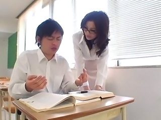Asian Glasses Japanese  Pornstar Teacher